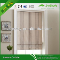 Home Automatic Fabric Blackout Roman Window Shades