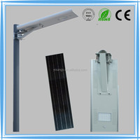 IP65 integrated solar led street light 12w with motion sensor