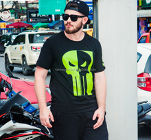 Summer new product character skull print tshirt polyester