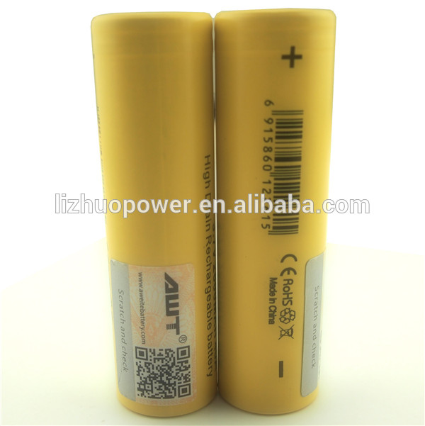 Supplier AWT 18650 2600mAh 40A battery istick 20w TC mods model indonesia bugil foto gadis artis