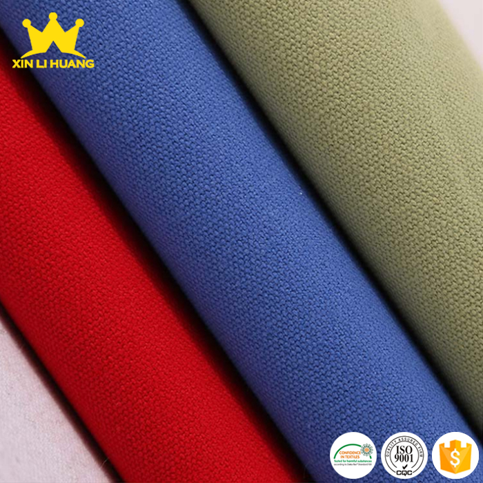 Best Supplier Wholesale Woven Dyed Thick 100 Cotton Duck Canvas Fabric