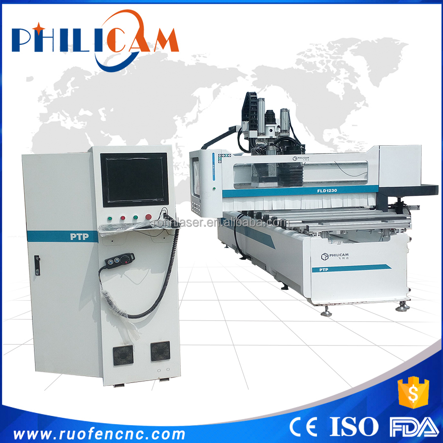 Cnc cutting machine / cnc engraving router / wood drilling processing