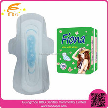 Feminine hygiene manufacturers supply of anion sanitary napkin with negative ion