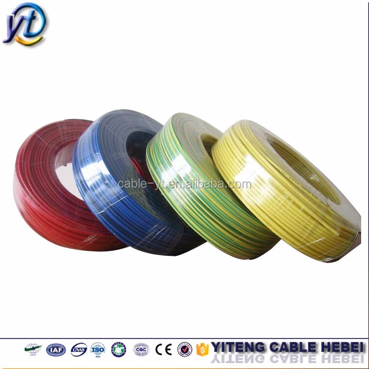 1.5mm/2.5mm2 Energy Wire/Copper/PVC insulated electrical wires /Household Cable