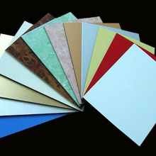cheap price PE/PVDF coating aluminum composite roof panels building material
