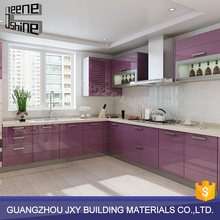 china factory supply affordable modern waterproof laminate Kitchen Cabinets