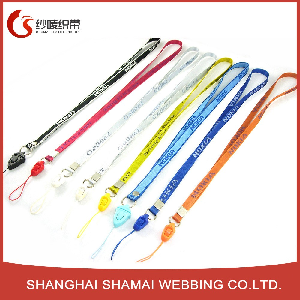 Promotion item polyester lanyard airbus custom lanyards for card holder