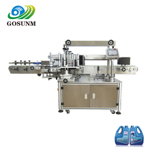 Gosunm Servo Motor Automatic Barcode Sticker Label Labeling Machine for Bottle Different Sides Labeling Machine