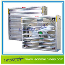 LEON exhaust fan with intelligent adjust blade