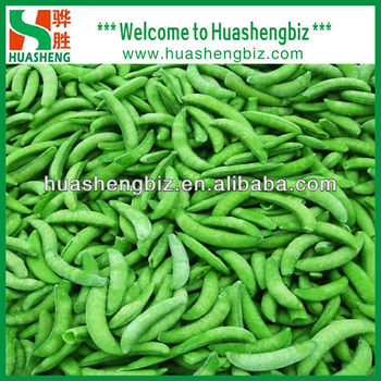 Best Price IQF Sugar Snap Peas Price For Sale