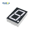 High brightness and long span life 1 digit 1.5inch common anode white color LED seven segment display
