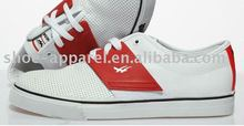 popular styls white casual skate shoes for men