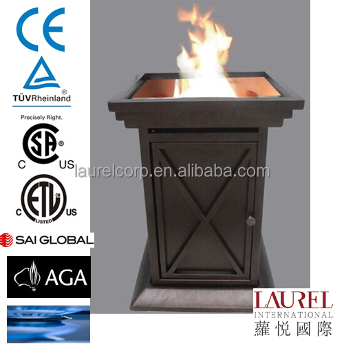 smokeless outdoor fire pit