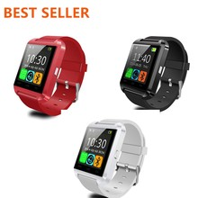 2017 Free Sample Smart Watch Mobile Phones Android Mens Women Lady U8 Bracelet Wrist Leather Sim 4G Kids Gps Luxury