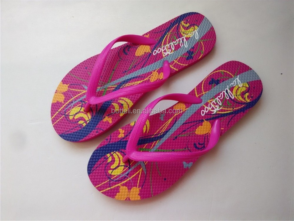 Latest Desing flip flops factory cheap beach slipper