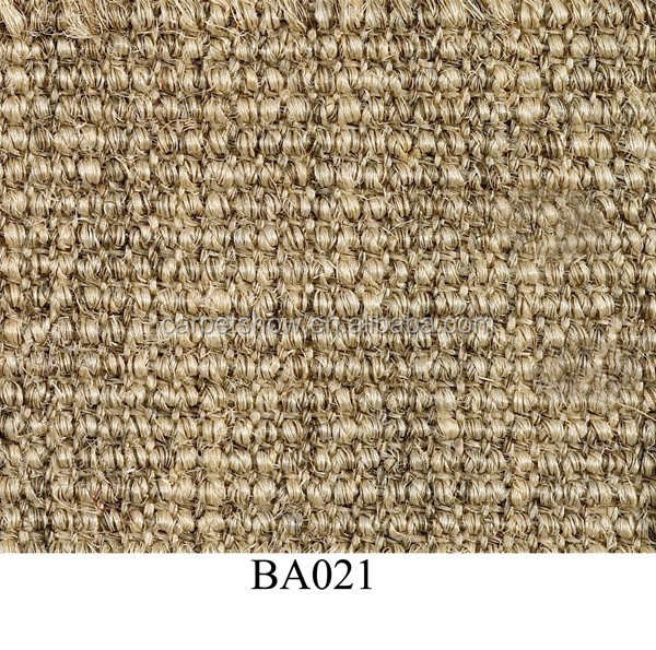 Healthy Home Latex Back Jute Eco-friendly Sisal Carpet