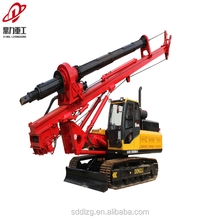 Hot selling crawler hydraulic rotary portable water drilling