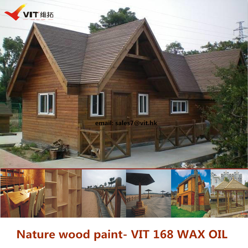 VIT-168 Nature wax oil for wood product,wood deco paint