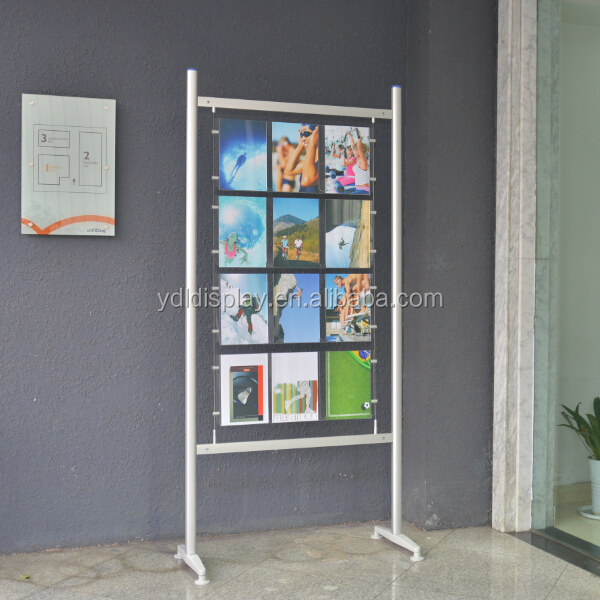 A4 Poster Freestanding Display <strong>Stand</strong>