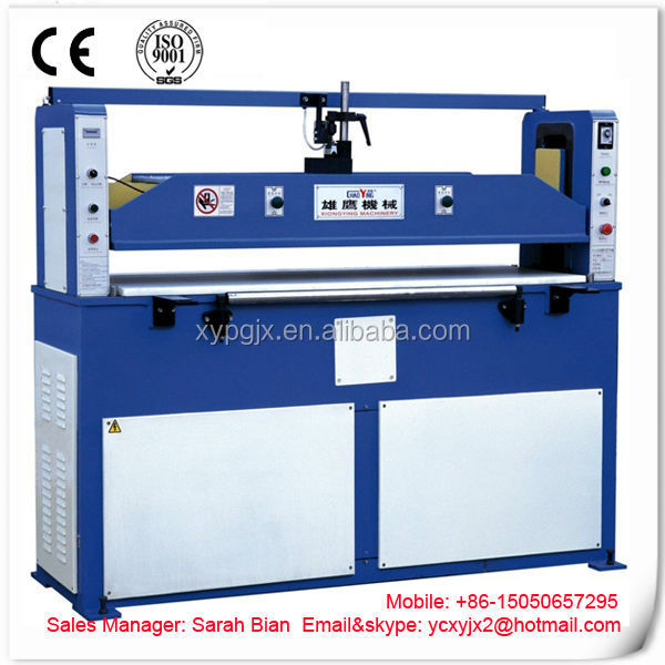 Xiongying Hydraulic plane leather die cutting press machine/leather press /leather splitter