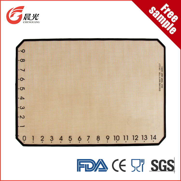 Customized shape custom factory supply rolling pastry baking mat