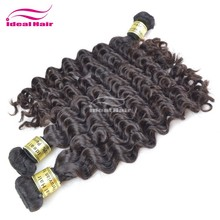 New style fashion high quality no chemical processed natural peruvian deep wave hair weave