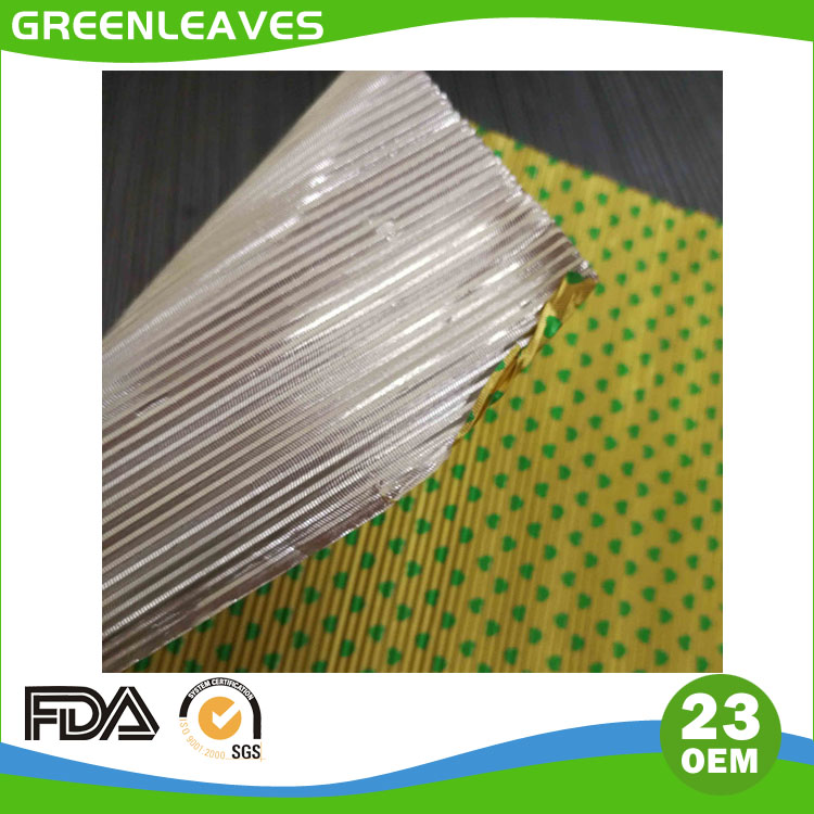 Corrugated Aluminium Foil For Chocolate