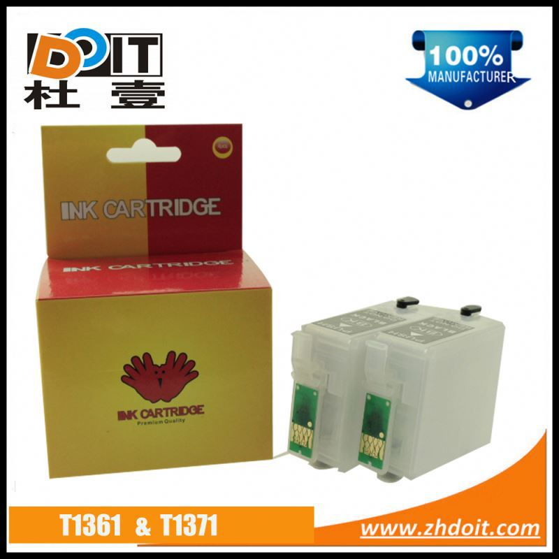 Hot in China T1371 inkjet ink cartridge for Epson K200 with ink