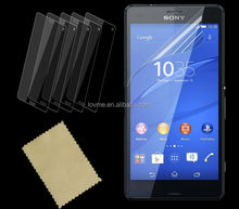 100% Transparent Clear Screen Protector For Sony Z3 Compact