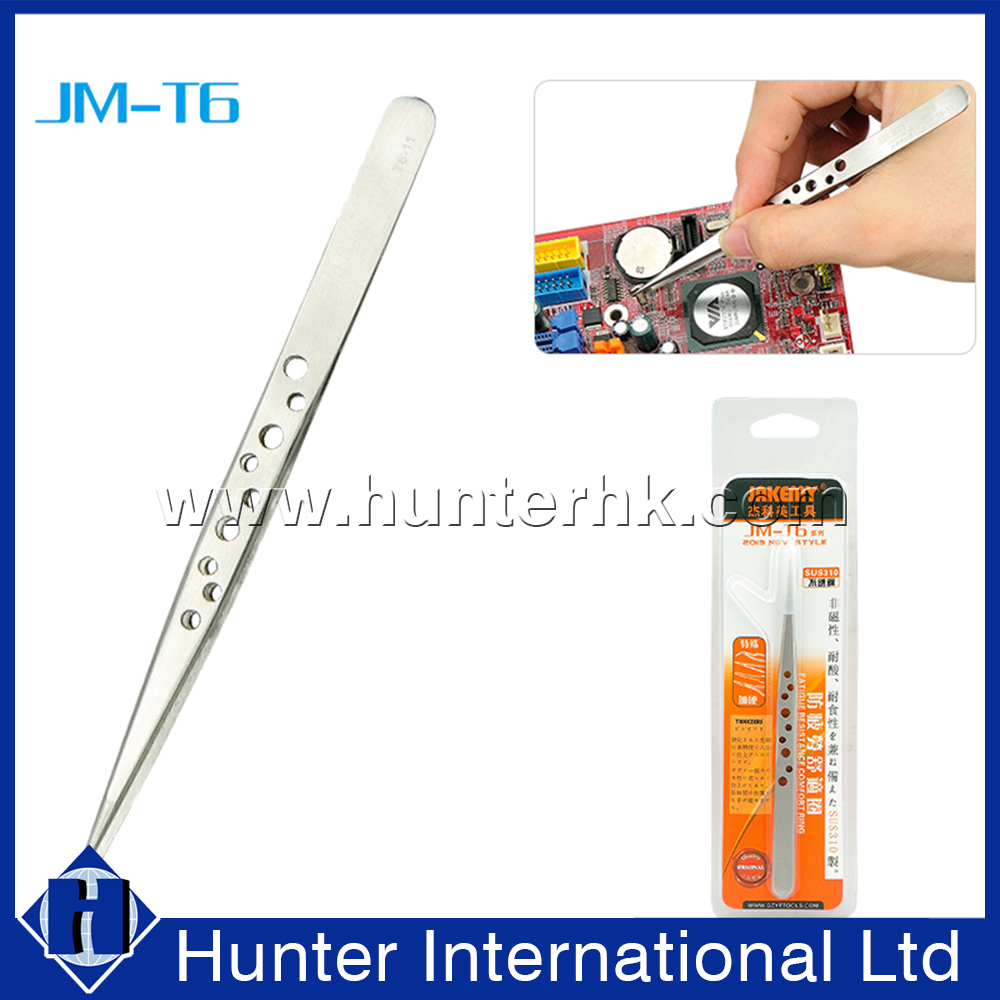 Hot Sell Stainless Holes Tweezer
