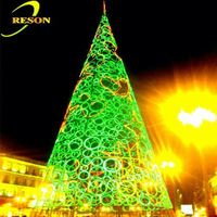 Garden lighting christmas star tree topper