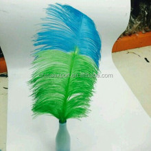 Newest Magic 60-65cm Double Dyed Colors Natural Ostrich Feather For Party Wedding