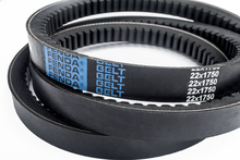 Cogged V-Belts Teeth Belt Rubber V Belt 22*1750