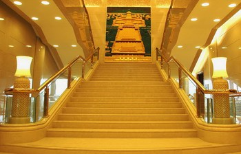 Excellent quality hot sale indoor marble stair treads