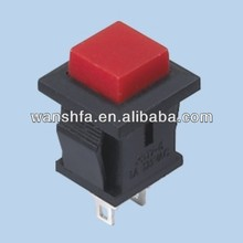 square plunger miniature push button switches