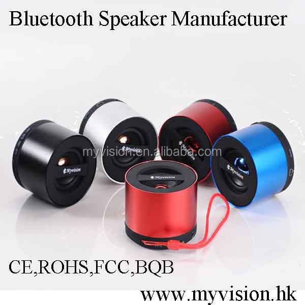 Wedding thank you gift for guest speaker portable mini bluetooth V3.0 speaker with handsfree function