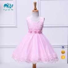Kids modern frocks wholesale communion new picture fashion short dresses LK158