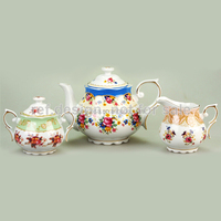 Luxury White Porcelain English Tea Pot