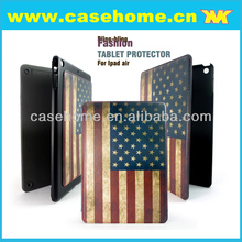 National flag leather case for ipad 5