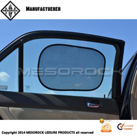 Large size static cling window film car sun shade for side window 2pcs