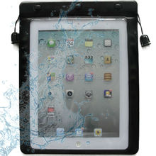 New design for ipad waterproof bags with string earphone