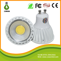SAA CE RoHS High Power 5w 450Lm Narrow Beam Angle Led Spot Light Gu10 China led spotlight