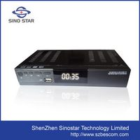 2014 new products dvb-t2 with dvb-s2 hybrid set top box