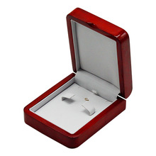 necklace magnetic gift case earring wooden jewellry box