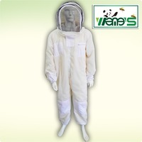 Three Layer Air Through Ventilated Beekeeping Protection Suit Clothing