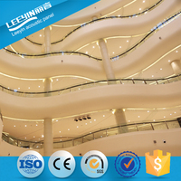GRG Fiberglass Reinforced Gypsum Decorative Glass Fiber Reinforced Gypsum Interior Ceiling Design