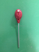 Accurate Folding Thermocouple beef thermometer red