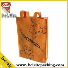 wholesale italian matching pp non-woven shopping shoe and grocery bag cart