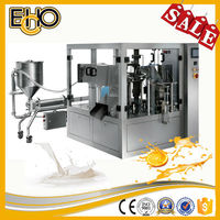 CE Approved multipurpose rotary Premade Side Gusset Bag counting full automatic Chili Paste Carousel type package machine