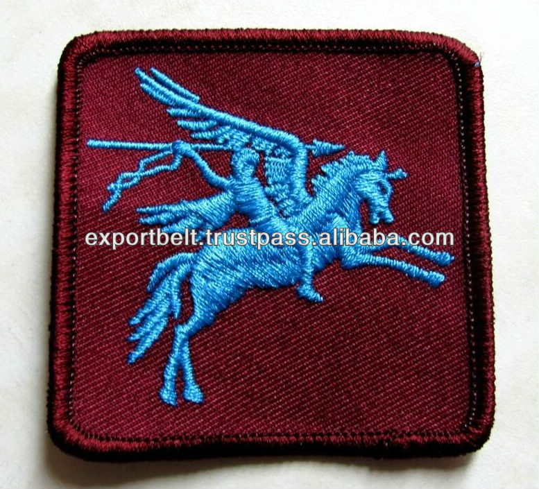 machine embroidery badge and patch, garment accessory